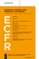 Abbildung: European Company and Financial Law Review (ECFR)