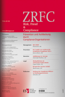 Abbildung: Risk, Fraud & Compliance (ZRFC)