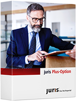 Abbildung: juris Plus-Option