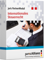 Abbildung: juris PartnerModul Internationales Steuerrecht